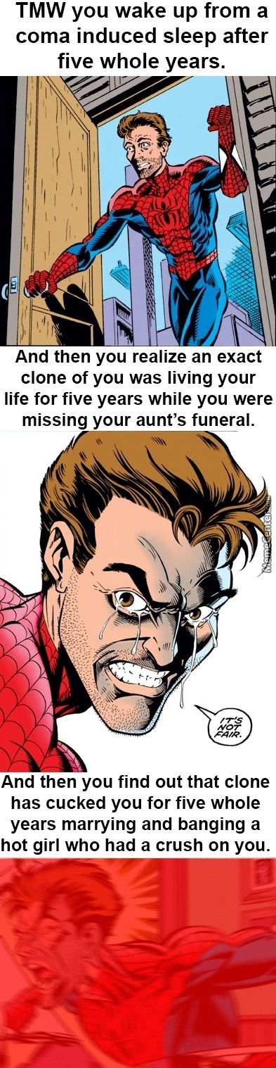 The Clone Saga Was Unneedlessly Edgy And Pretty Shitty Tbh