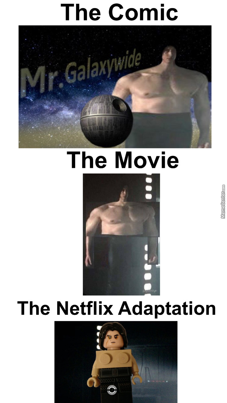 The Comic, The Movie And The Netflix Adaptations Of Wide Kylo