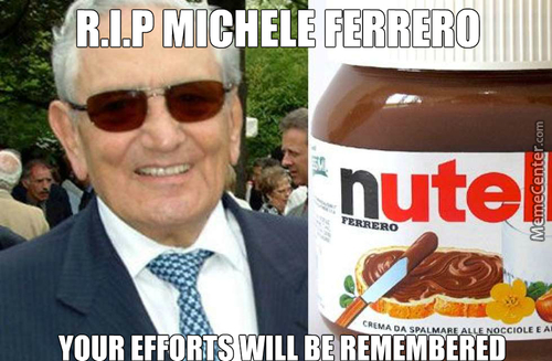 The Creator Of Nutella And Ferrero Rocher And Kinder