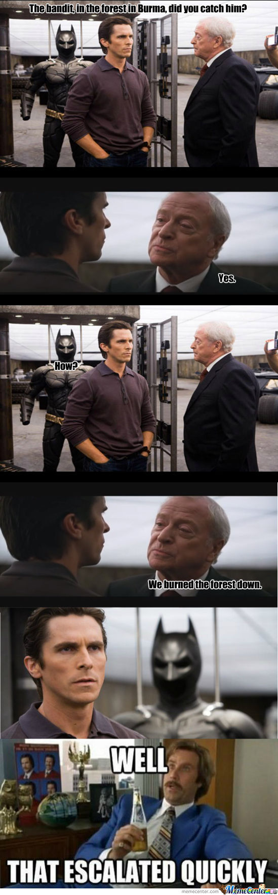 The Dark Knight Escalates