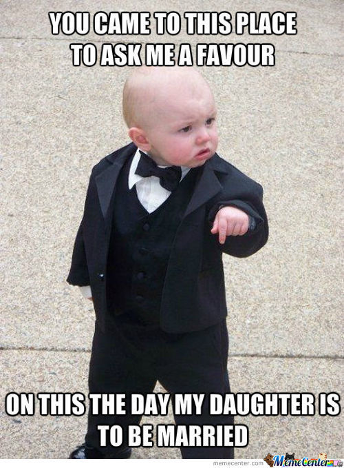 The Day My Daughter Is To Be Married