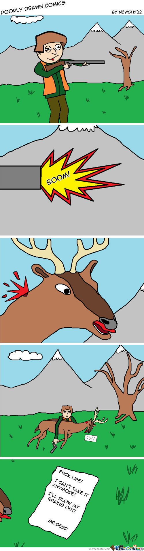 The Death Of Mr.deer