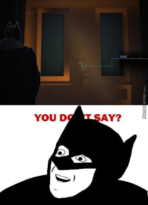 The Detective Mode Is Brought To You By Captain Obvious, Enjoyy