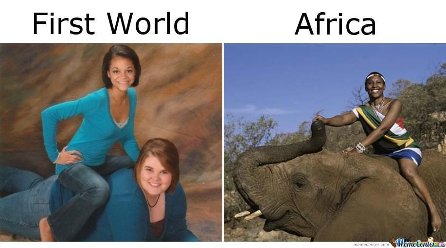 The Difference Between Africa And The Third World Countries...