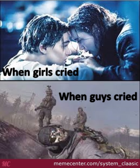 The Difference Between Girls Crying And Guys Crying