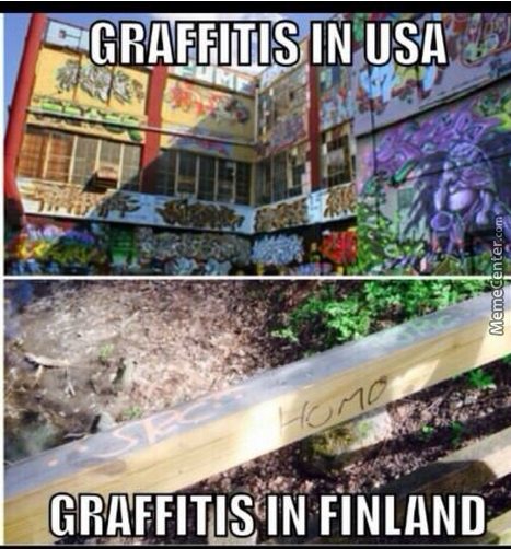 The Difference Between Good Graf Artists And Finland