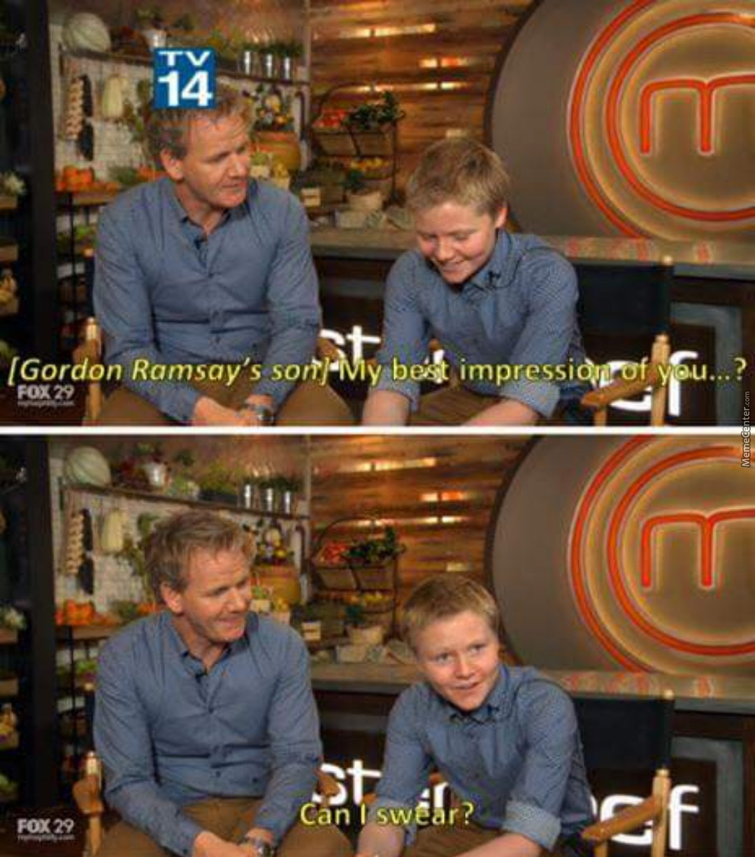 The Difference Between Ramsay With Children And Ramsay With Adults Is Immense