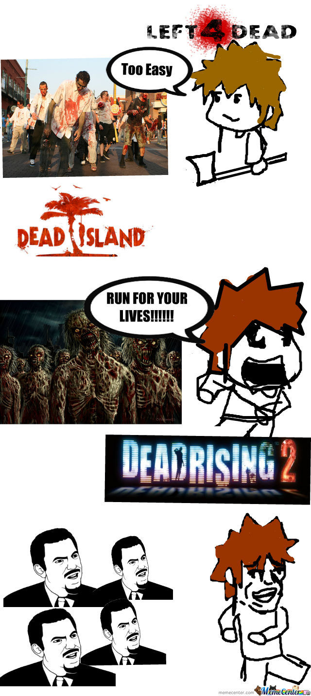 The difference between some zombie games