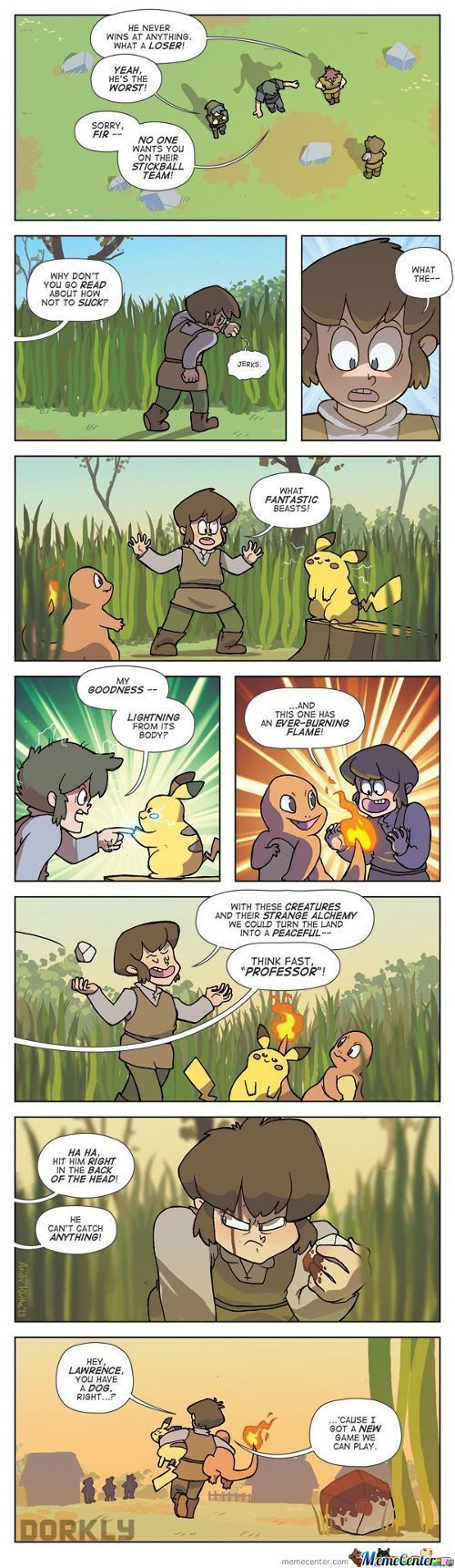 The Discovery Of Pokemon