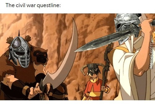 The Dragonborn- Er I Mean The Avatar Will Save Us!