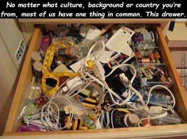 The Dreaded Drawer