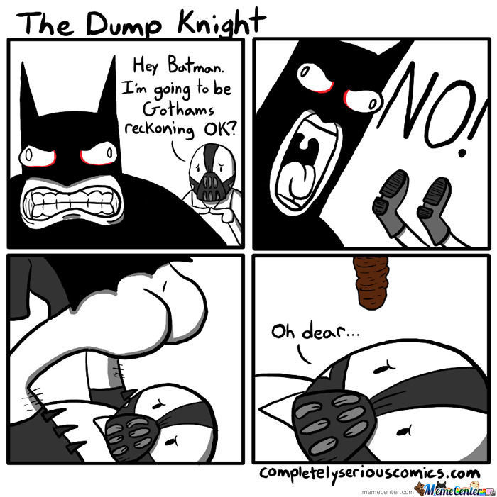 The Dump Knight By Wafflejr Meme Center