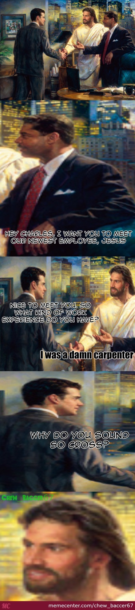 The Economy Must Be Really Bad. Even Jesus Is Getting A Job