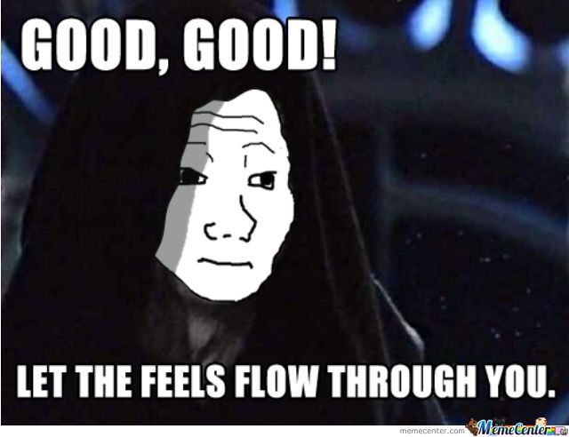 The Empire Has Feels To.