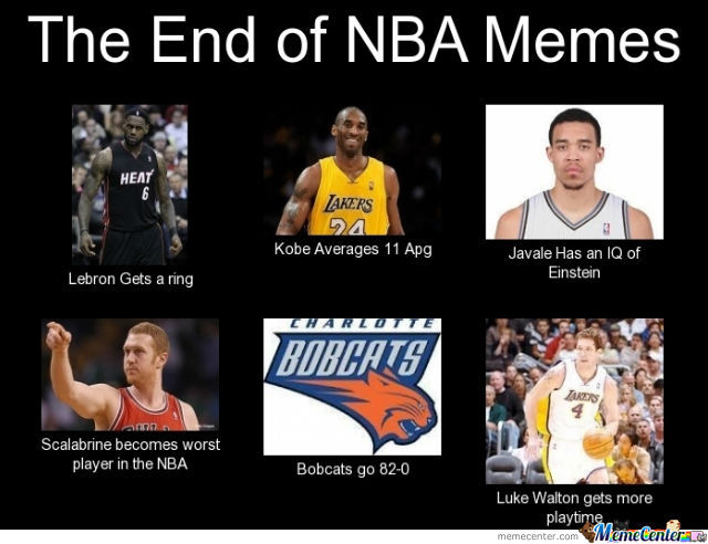The End Of Nba Memee