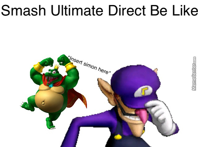 The End Of The Smash Direct Had Me Betting Waluigi Was Going To Be