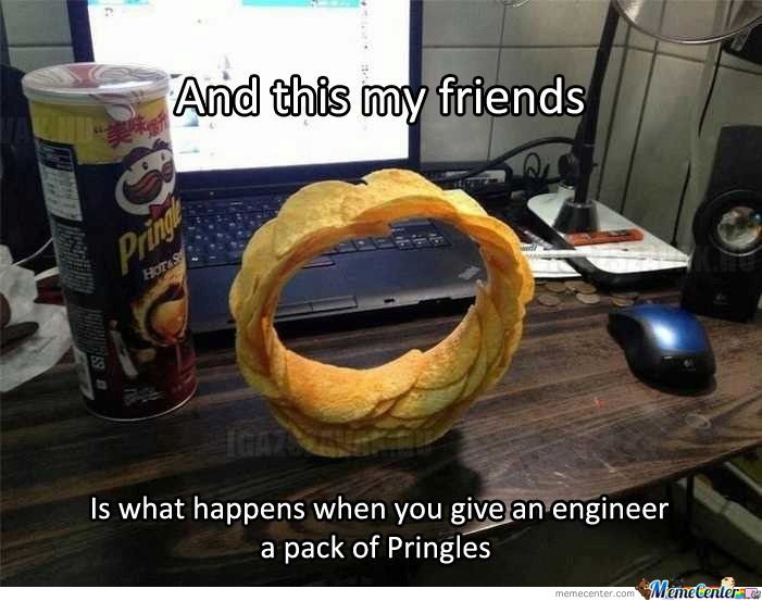 the engineer and the pringles_o_1415033 the engineer and the pringles by gradient meme center,Pringles Meme