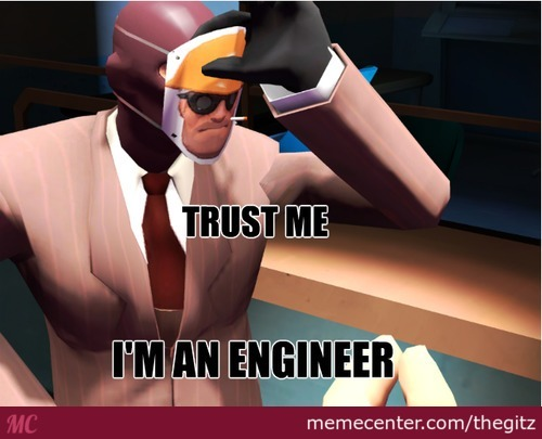 The Engineer Is A Spy