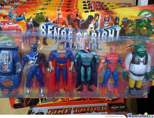The Err.... Justice League