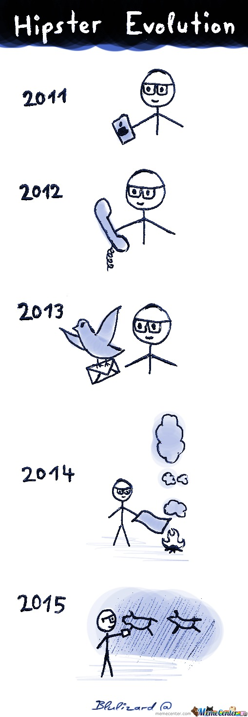 The Evolution Of Hipsters