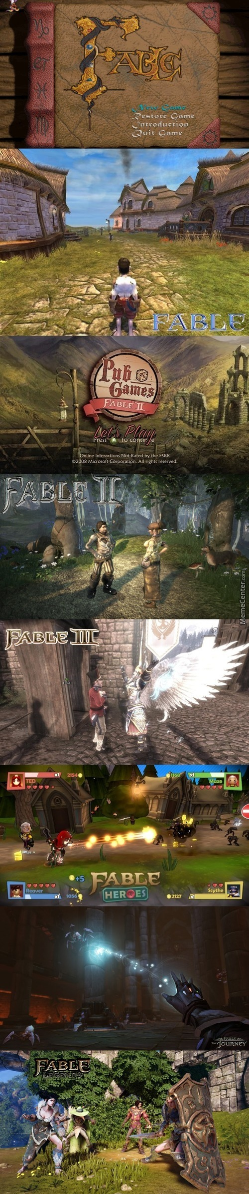 Fable Ii Memes  Best Collection of Funny Fable Ii Pictures