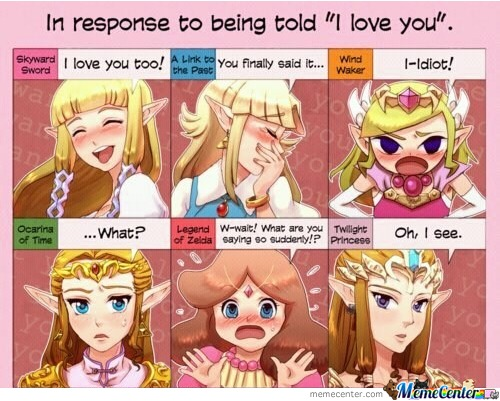 The Faces Of Zelda.