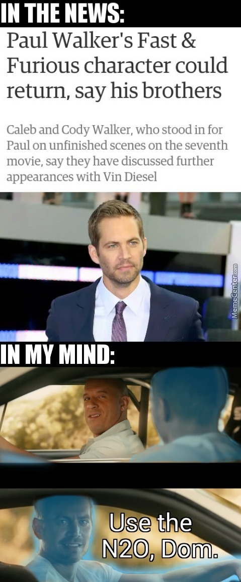 The Fast And The Furious And The Force