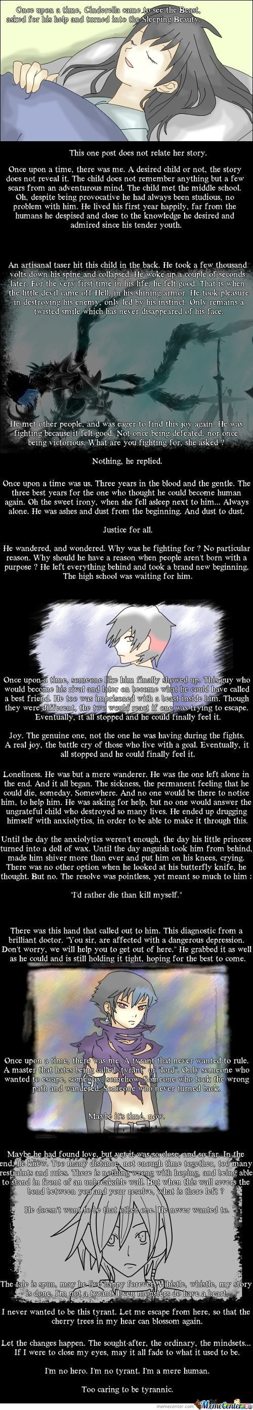 The Final Post ~ Memories Of A Human