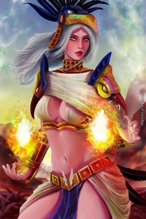 The Fire Priestess Of The Scourge