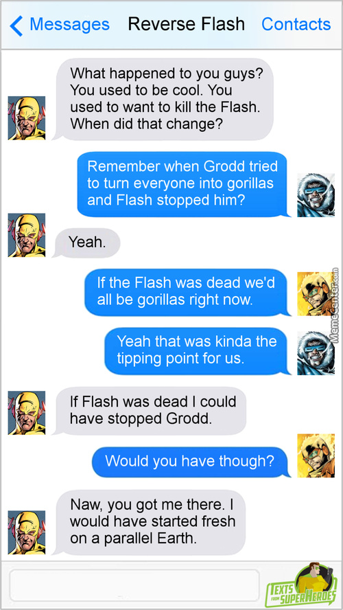 The Flash Is One Of The More Likable Heroes
