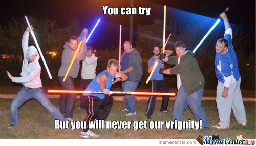 The Force Preserves Virginity