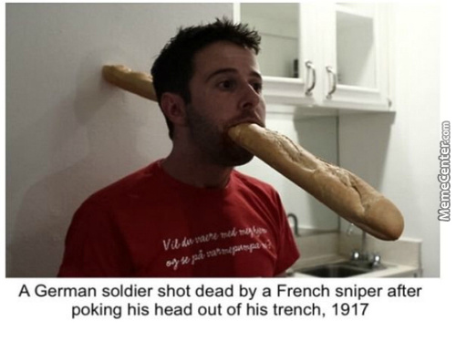 The French Snipers Were Well Trained