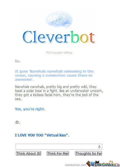 The Fuck Cleverbot?
