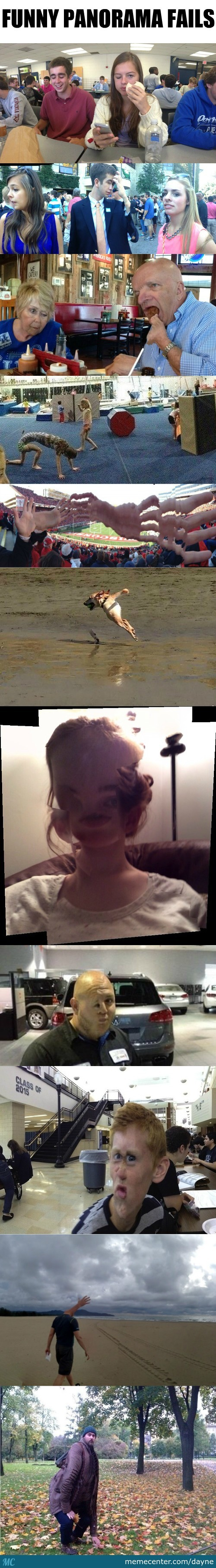 The Funniest Panorama Fails Ever