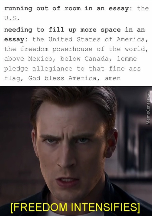 The Greatest Country In The World Amirite