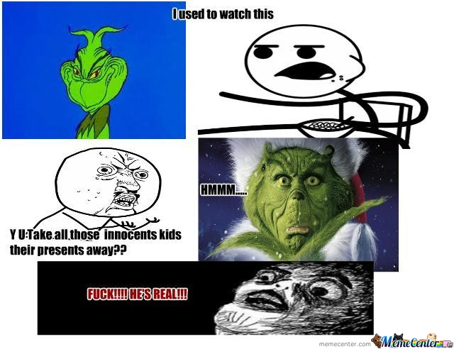 the grinch stole christmas_o_199834 the grinch stole christmas by jswagkearns meme center
