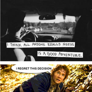 The Hobbit Tumblr Quotes By Gandalftherainbow Meme Center