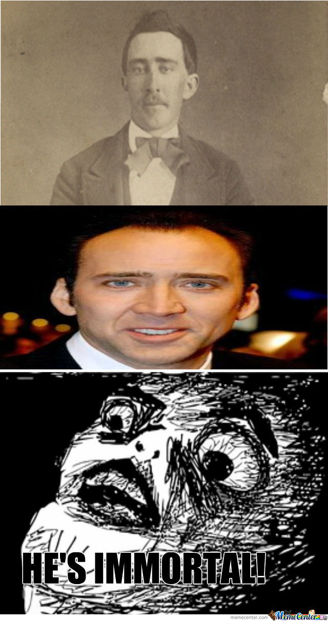 The Immortal Nicholas Cage