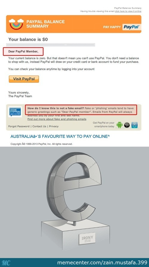 the irony is strong in this one_c_2801923 paypal memes best collection of funny paypal pictures