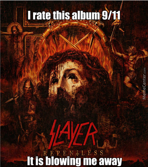 The Joke In Here Is, That This Album Came Out On This Friday, Which Was 9/11