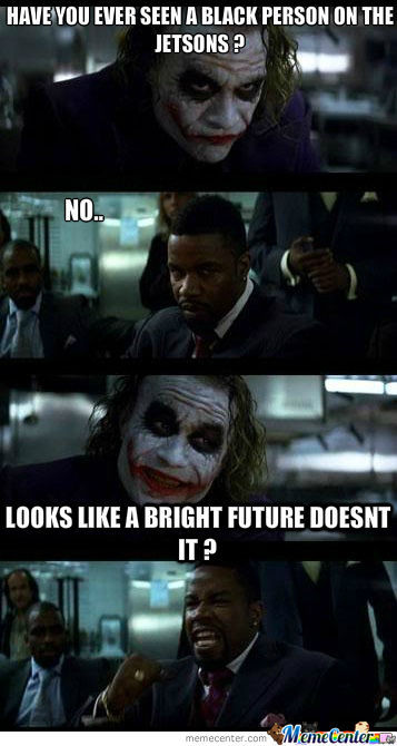 The Joker Nailed The Black Dude Again