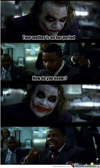 The Joker , Period