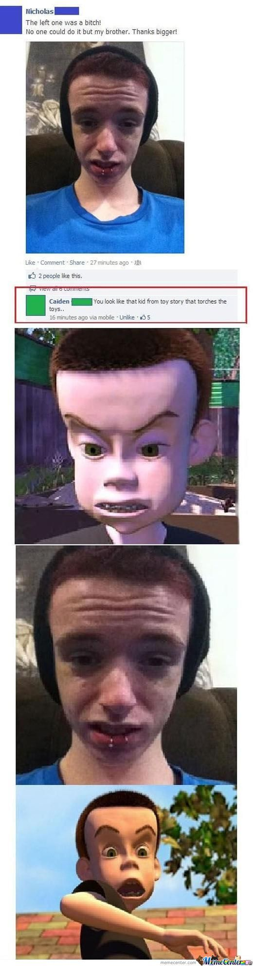 The Kid From Toy Story