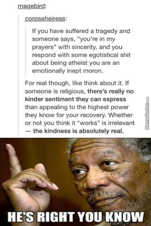 The Kindness Is 200% Real- Also Proof That Tumblr Isn't Full Of Idiots,