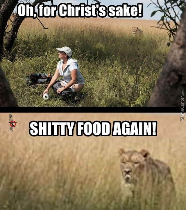 The Landscape Is Fine, You Must Refine Your Food!