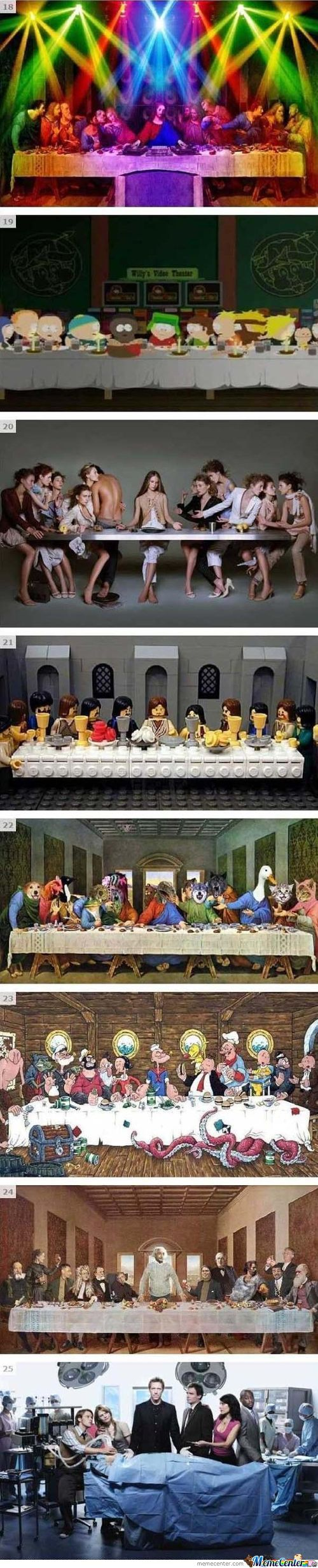 The Last Supper Parody(Continuation)