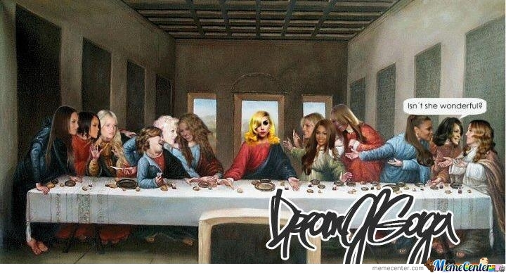 the last supper_o_207227 the last supper by vricks meme center