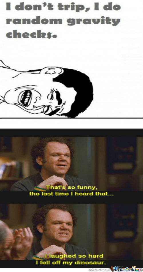The Last Time I Heard That...