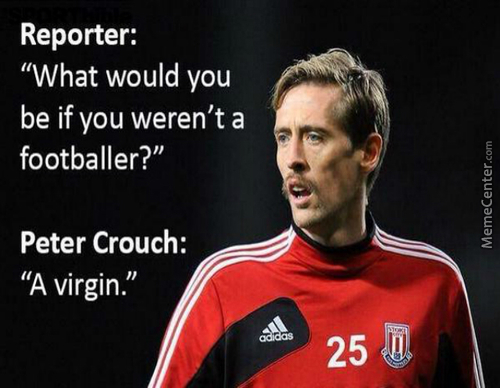 The Legendary Quote By Peter Crouch