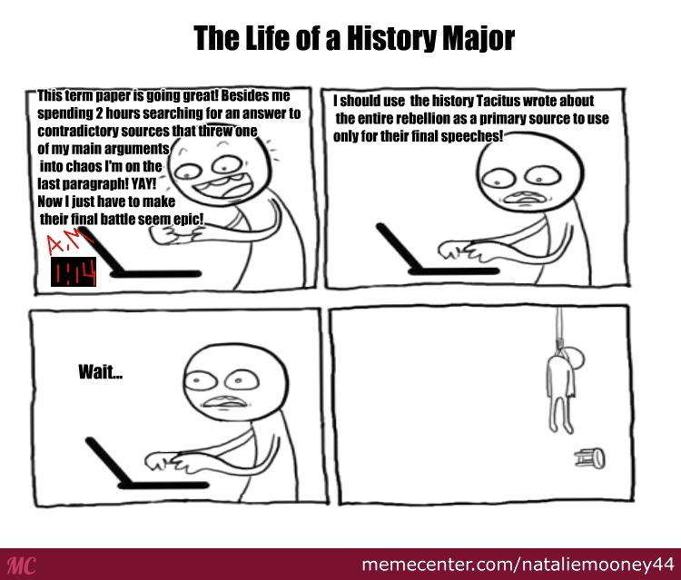 The Life Of A History Major